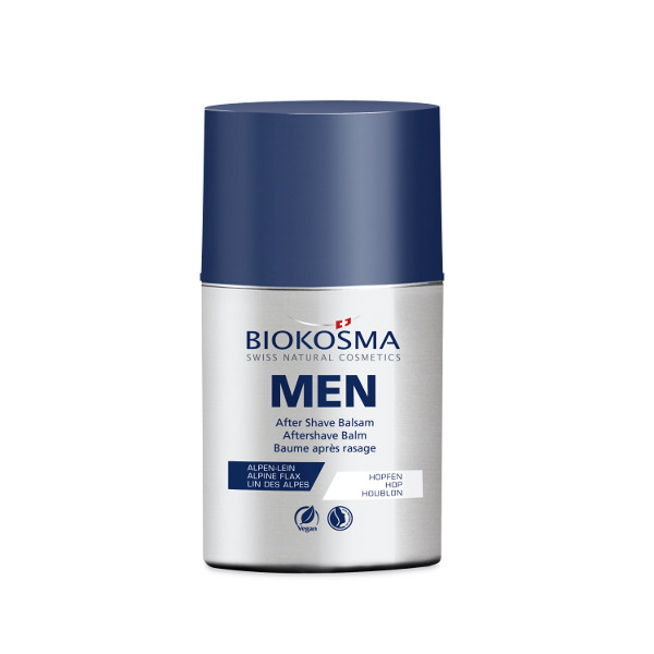 BIOKOSMA Men After Shave Balsam 50ml Naturkosmetik Swiss Made
