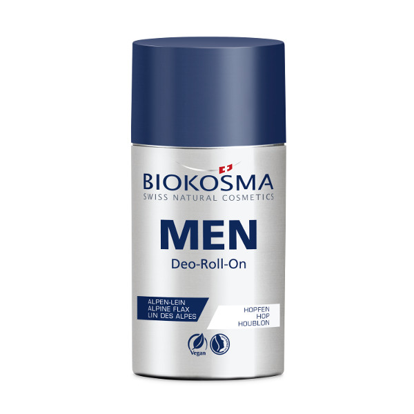 BIOKOSMA Men Deo Roll On 60ml Naturkosmetik Swiss Made