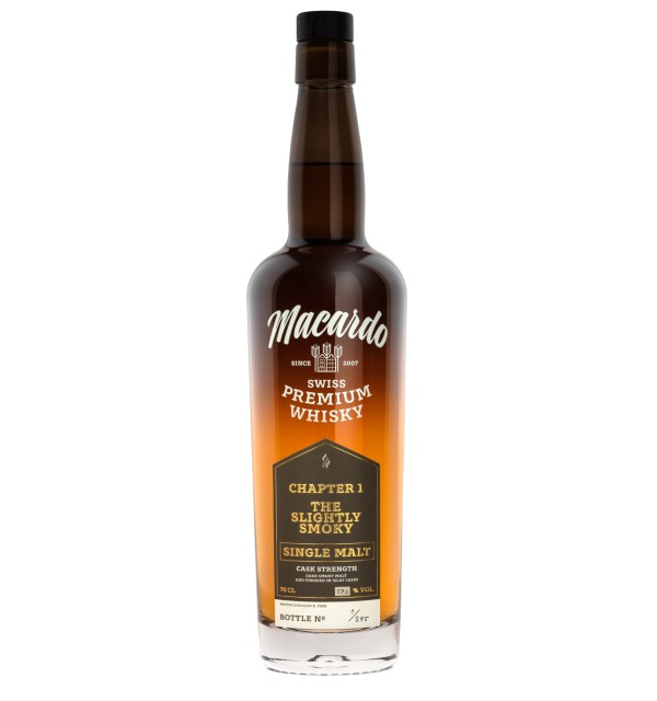 Macardo Chapter1 Single Malt Whisky Swiss Whisky Schweizer Whisky