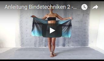 Pareo Skirt Bindetechniken 2