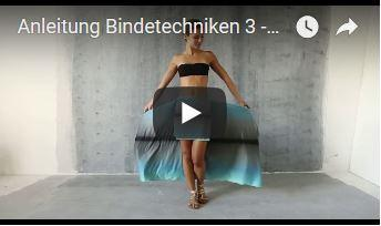 Pareo Skirt Bindetechniken 3