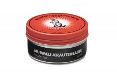 Puralpina Murmeli Kraeutersalbe waermend 100ml Swiss Made 300