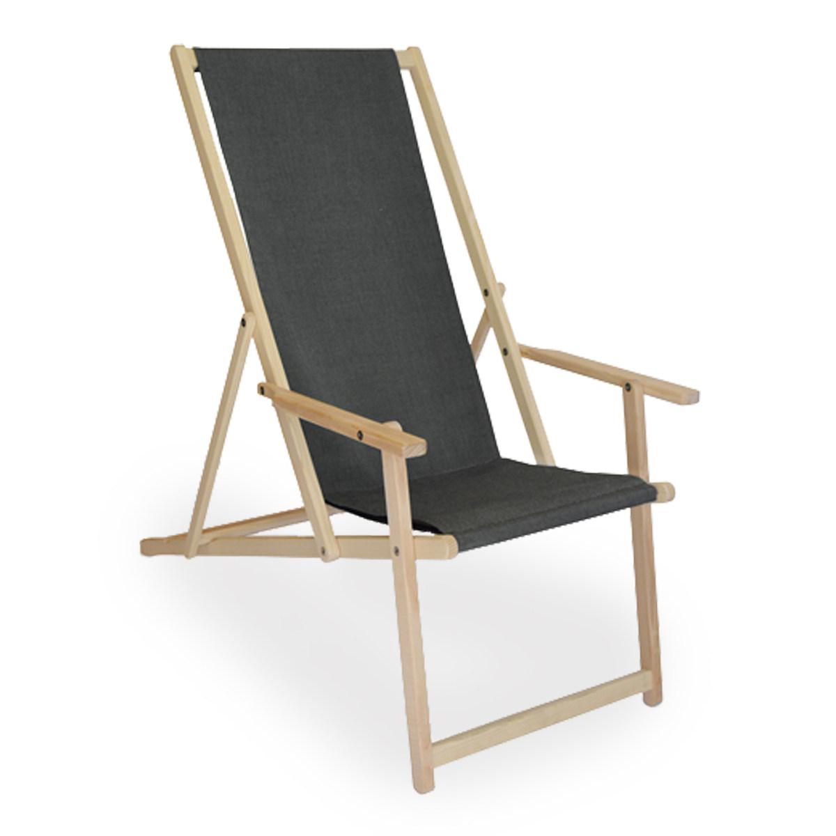Liegestuhl Komfort Anthrazit Schweizer Design Schweizer