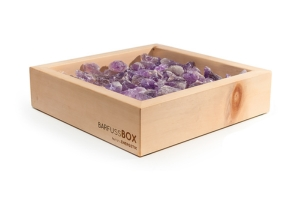 Wellness Swiss Made Barfussbox Amethyst Schweizer Produkte
